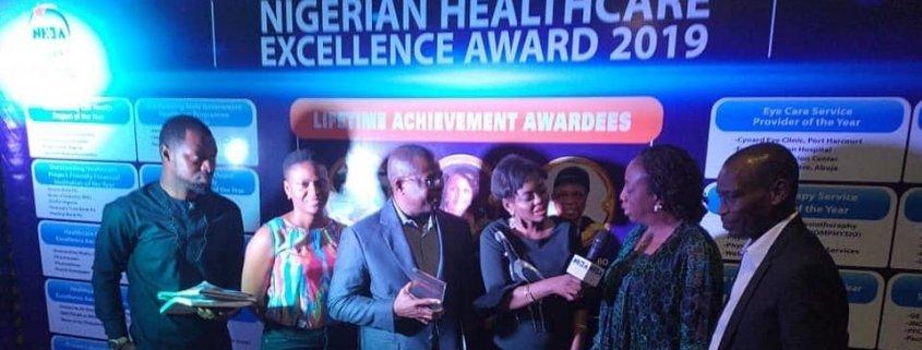 GroFin Nigeria wins Nigerian Healthcare Excellence Award 2019